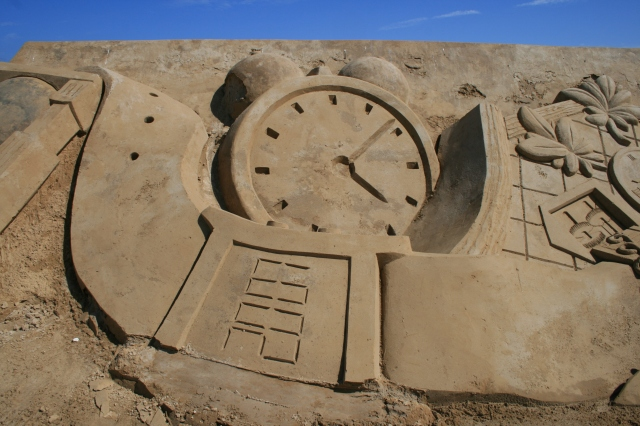 Zeit Sand